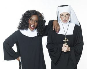 Deloris and Mother Superior
